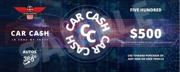 car cash sample